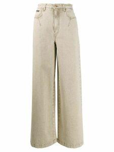 Dolce & Gabbana high-rise wide jeans - NEUTRALS