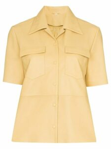 Remain short sleeved shirt - Yellow
