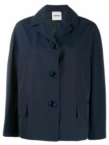Aspesi Carbonara single breasted jacket - Blue