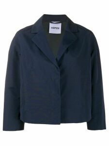 Aspesi Trenetta box-cut blazer - Blue