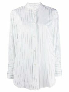 Aspesi oversized striped shirt - White
