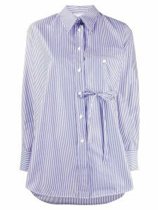 Chloé long sleeve striped shirt - Blue