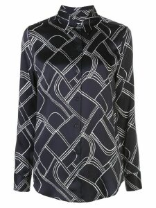 Equipment geometric patterned shirt - Blue