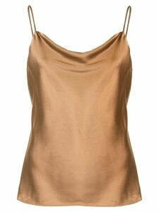 L'Agence Kay silk top - Brown