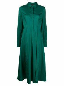 Twin-Set belted shirt dress - Green