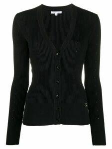 Patrizia Pepe floral knit cardigan - Black