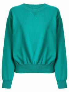 Coohem knitted crew neck jumper - Green