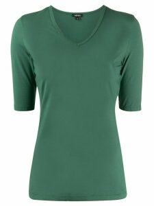 Aspesi v-neck fitted T-shirt - Green