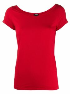 Aspesi plain fitted T-shirt - Red
