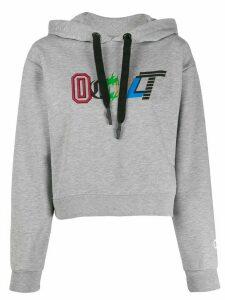 Omc logo print hoodie - Grey