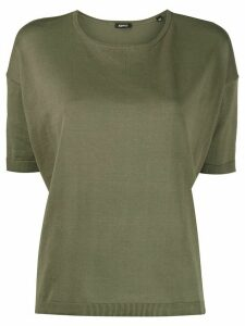 Aspesi plain fitted jumper - Green