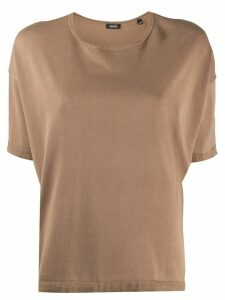 Aspesi plain relaxed jumper - NEUTRALS
