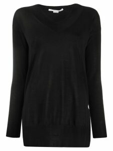 Stella McCartney slit detail jumper - Black