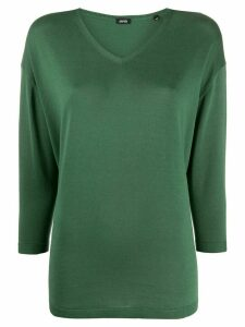 Aspesi v-neck relaxed jumper - Green