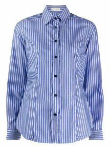 Etro striped long-sleeve shirt - Blue
