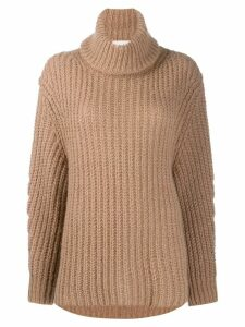 Ba & Sh Emera roll-neck jumper - NEUTRALS