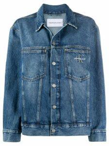 Calvin Klein Jeans panelled denim jacket - Blue