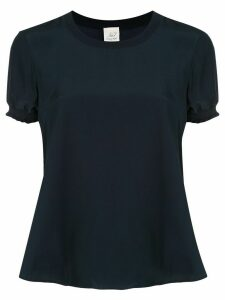 Cinq A Sept Lenny short sleeve silk T-shirt - Blue