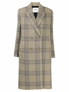 Ba & Sh Kendall double-breasted coat - NEUTRALS
