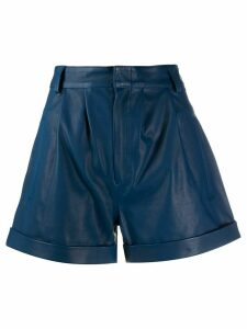 Federica Tosi pleated shorts - Blue
