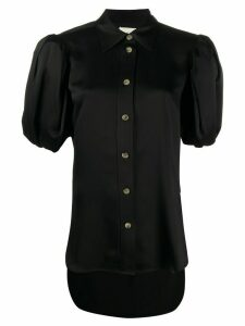 Khaite puff sleeve blouse - Black