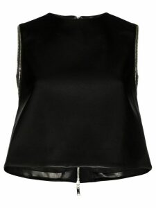 We11done relaxed-shape vest top - Black