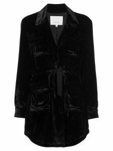Cinq A Sept Mathieu velvet blazer - PINK