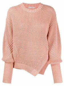 Ulla Johnson side slit jumper - PINK