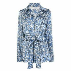 Victoria by Victoria Beckham Pyjama Style Printed Shirt