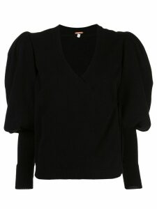 Johanna Ortiz Rivers Of Stillness cashmere jumper - Black