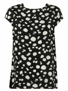 Aspesi dotted silk blouse - Black