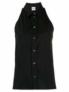 Aspesi cut out detail shirt - Black