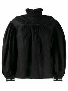 Isabel Marant Étoile Amalia ruffled blouse - Black