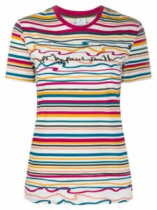 PS Paul Smith striped logo T-shirt - White