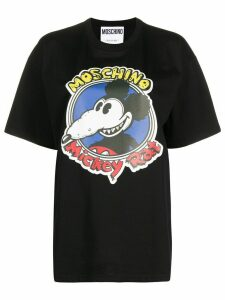 Moschino printed T-shirt - Black