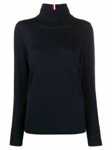 Tommy Hilfiger contrast stripe jumper - Blue