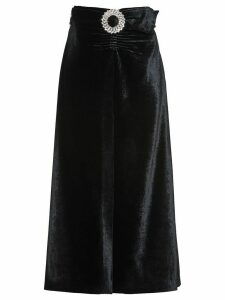 Miu Miu belted mid-length skirt - Black