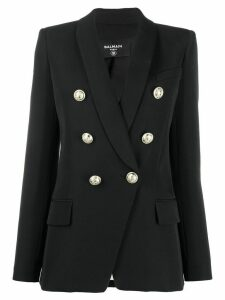 Balmain double-breasted fitted blazer - Black