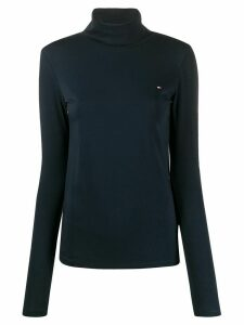 Tommy Hilfiger funnel neck jumper - Blue