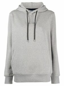 1017 ALYX 9SM logo-print relaxed-fit hoodie - Grey