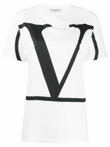 Valentino VLOGO print T-shirt - White