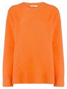 The Row oversized crew neck jumper - ORANGE