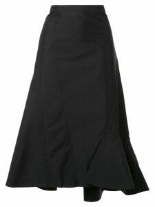3.1 Phillip Lim ruffled hem skirt - Black
