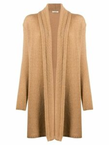 The Row cashmere mid-length cardi-coat - NEUTRALS