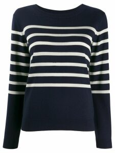 A.P.C. nautical striped jumper - Blue
