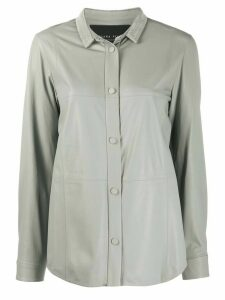 Fabiana Filippi panelled shirt - Grey