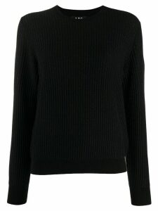 A.P.C. ribbed knit jumper - Black