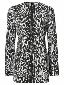 Burberry leopard-print top - Black