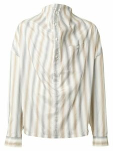 Y/Project striped oversized shirt - Multicolour