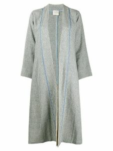 Forte Forte open-front tweed cardigan - Blue